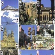 Barajas de cartas: BARAJA ESPAÑA EN IMAGENES-HIGHLIGHTS-OF SPAIN-FOURNIER-AÑO 2003. Lote 152308998