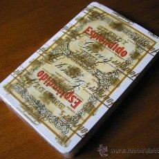 Barajas de cartas: BARAJA NAIPES CARTAS NUEVA SIN USAR HERACLIO FOURNIER PUBLICIDAD BRANDY ESPLENDIDO GARVEY JEREZ. Lote 33658515