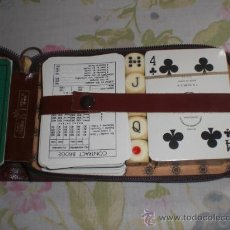 Barajas de cartas: ESTUCHE DE POCKER Y BRIDGE. Lote 33664768
