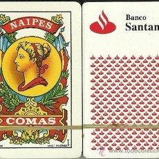 Barajas de cartas: BANCO SANTANDER - BARAJA ESPAÑOLA DE 40 CARTAS. Lote 33745116