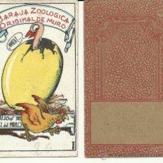 Barajas de cartas: (CRO-113)BARAJA ZOOLOGICA ORIGINAL DE MURO A 1,50 EUROS LA UNIDAD. Lote 33761410