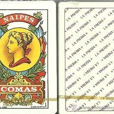 Barajas de cartas: LA PAERIA - BARAJA ESPAÑOLA 50 CARTAS. Lote 33789836