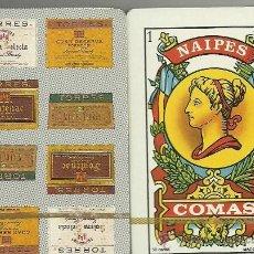 Barajas de cartas: BODEGAS TORRES - BARAJA ESPAÑOLA 50 CARTAS. Lote 33789862