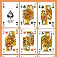 Barajas de cartas: BARAJA DE BRIDGE DE NAIPES MILANO. Lote 33872618