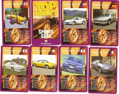 Sports Cars Top Trumps Juego De Treinta Cart Comprar Otras - Sports cars top trumps