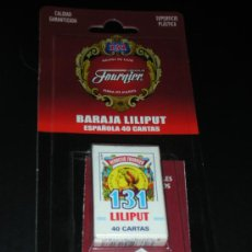 Barajas de cartas: BARAJA LILIPUT 131 HERACLIO FOURNIER 40 CARTAS ESPAÑOLA NUEVA EN BLISTER. Lote 33974631