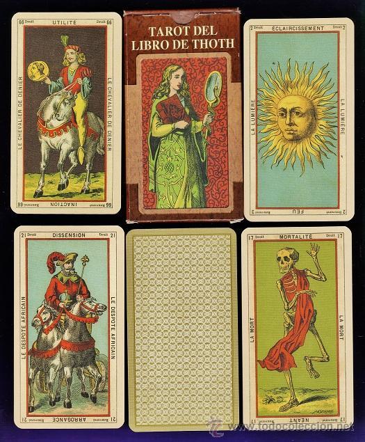 BARAJA / NAIPES - TAROT EL LIBRO DE THOTH - 78 CARTAS - LO SCSRABEO/ ITALIA - EN CAJA -SIN ESTRENAR (Juguetes y Juegos - Cartas y Naipes - Barajas Tarot)