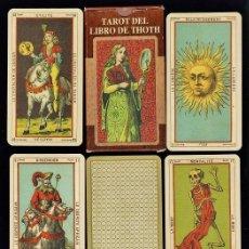 Barajas de cartas: BARAJA / NAIPES - TAROT EL LIBRO DE THOTH - 78 CARTAS - LO SCSRABEO/ ITALIA - EN CAJA -SIN ESTRENAR. Lote 168845404