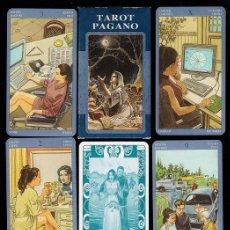 Barajas de cartas: BARAJA / NAIPES - TAROT PAGANO - 78 CARTAS - LO SCSRABEO / ITALIA - EN CAJA - SIN ESTRENAR . Lote 58706227