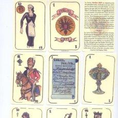 Barajas de cartas: BARAJA ESPAÑOLA DE PORLIER. Lote 47189911