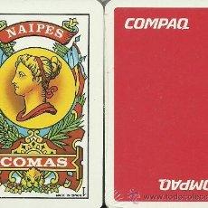 Barajas de cartas: COMPAQ - BARAJA ESPAÑOLA 40 CARTAS. Lote 34041960