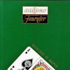 Barajas de cartas: CATALOGO - HERACLIO FOURNIER / VITORIA - NAIPES / BARAJA / CARTAS - VER FOTO - AÑO 1995. Lote 34073496