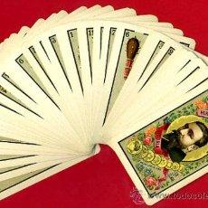 Barajas de cartas: BARAJA HERACLIO FOURNIER 1ª CLASE 1894 , COMPLETA 40 NAIPES ,ORIGINAL M. Lote 34110241
