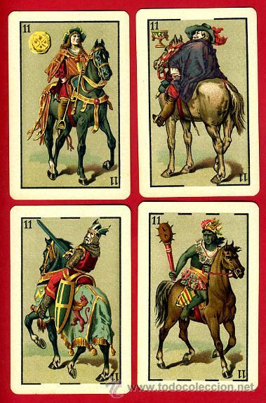 Barajas de cartas: BARAJA HERACLIO FOURNIER 1ª CLASE 1894 , COMPLETA 40 NAIPES ,ORIGINAL M - Foto 11 - 34110241