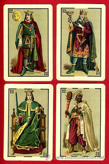 Barajas de cartas: BARAJA HERACLIO FOURNIER 1ª CLASE 1894 , COMPLETA 40 NAIPES ,ORIGINAL M - Foto 12 - 34110241