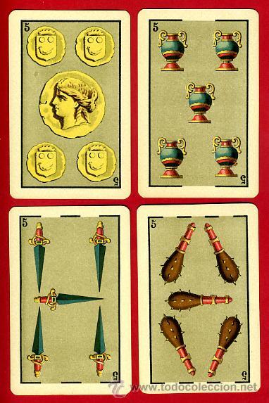 Barajas de cartas: BARAJA HERACLIO FOURNIER 1ª CLASE 1894 , COMPLETA 40 NAIPES ,ORIGINAL M - Foto 7 - 34110241