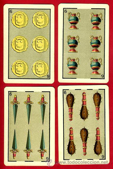 Barajas de cartas: BARAJA HERACLIO FOURNIER 1ª CLASE 1894 , COMPLETA 40 NAIPES ,ORIGINAL M - Foto 8 - 34110241