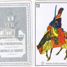 Jeux de cartes: BARAJA - CARTA - MUEBLES LA FÀBRICA - JARDIN JAPONÈS EL PEDREGAL - BELLATERRA - AÑOS 60. Lote 87078391