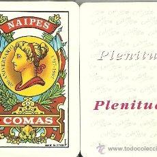 Barajas de cartas: PLENITUD - BARAJA ESPAÑOLA 40 CARTAS. Lote 34164254