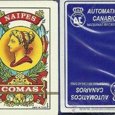 Barajas de cartas: AUTOMATICOS CANARIOS - BARAJA ESPAÑOLA 40 CARTAS. Lote 34166414
