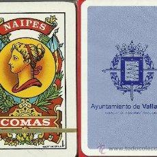 Barajas de cartas: AYUNTAMIENTO DE VALLADOLID - BARAJA ESPAÑOLA 40 CARTAS. Lote 34170346