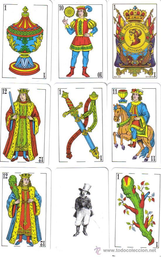 BARAJA ESPAÑOLA UNIVERSAL-MODELO 003-AÑO 2000 (Juguetes y Juegos - Cartas y Naipes - Baraja Española)