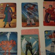 Barajas de cartas: 7 CARTAS INFANTILES SUELTAS DE MAZINGER Z - HERACLIO FOURNIER 1978 - VER DESCRIPCION. Lote 34205380