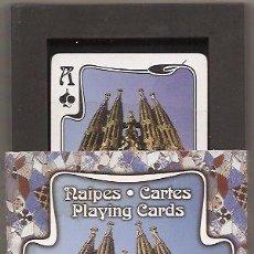 Barajas de cartas: BARAJA DE FOURNIER NUEVA SIN USAR. GAUDÍ. Lote 34272918
