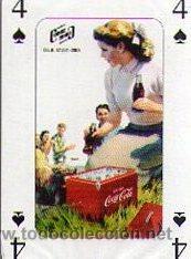 BARAJA DE PÒKER CARTELES ANTIGÜOS COCA COLA***NAIPES COMAS AÑO 2.005 (Juguetes y Juegos - Cartas y Naipes - Barajas de Póker)