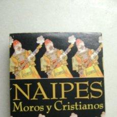 Barajas de cartas: NAIPES MOROS Y CRISTIANOS.N011. Lote 34330363