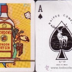 Barajas de cartas: GORDON'S LONDON DRY GIN BARAJA POKER. Lote 34484971
