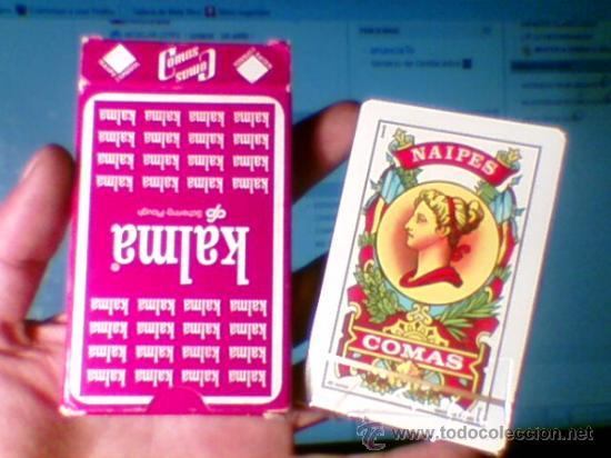 BARAJA PRECINTADA 40 CARTAS COMAS NAIPE ESPAÑOL PUBLICIDAD KALMA IMPORTANTE (Juguetes y Juegos - Cartas y Naipes - Baraja Española)