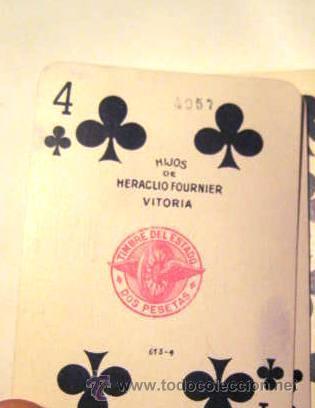 Barajas de cartas: BARAJAS DE CARTAS EN ESTUCHE.HERACLIO FOURNIER. ENVIO GRATIS¡¡¡ - Foto 6 - 34964157