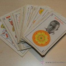 Barajas de cartas: BARAJA DE CARTAS - RODOLFO VALENTINO, DOUGLAS FAIRBANKS, GEORGE O'BRIEN, S HAYAKAWA( COMPLETA ) . Lote 34997089
