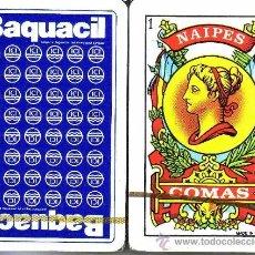 Barajas de cartas: BAQUACIL - ICI BARAJA ESPAÑOLA 50 CARTAS. Lote 35057667