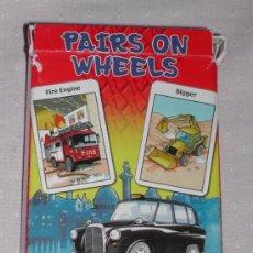 Barajas de cartas: BARAJA PAIRS ON WHEELS CARTA MUNDI - AÑO 2.003. Lote 35059917
