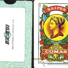 Barajas de cartas: BACAICOA INDUSTRIAS PLASTICAS - BARAJA ESPAÑOLA 50 CARTAS. Lote 35189533