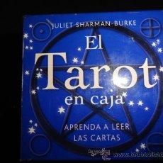 Barajas de cartas: EL TAROT EN CAJA (BARAJA+LIBRO+TABLERO). Lote 237432130