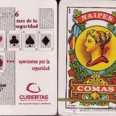 Barajas de cartas: CUBIERTAS - BARAJA ESPAÑOLA 50 CARTAS. Lote 53707910