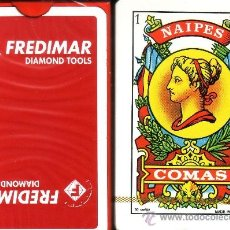 Barajas de cartas: FREDIMAR DIAMOND TOOLS - BARAJA ESPAÑOLA 50 CARTAS. Lote 35202687