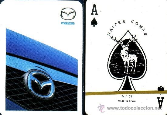 MAZDA - BARAJA DE POKER (Juguetes y Juegos - Cartas y Naipes - Barajas de Póker)