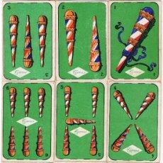 Barajas de cartas: BARAJA COMPLETA CHOCOLATE TORRAS - AL DORSO ESTRELLAS DE CINE -. Lote 35332778