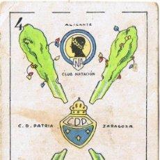 Barajas de cartas: CARTA BARAJA - 4 DE BASTOS - CHOCOLATES ORTHI - TARRAGONA. Lote 35395238