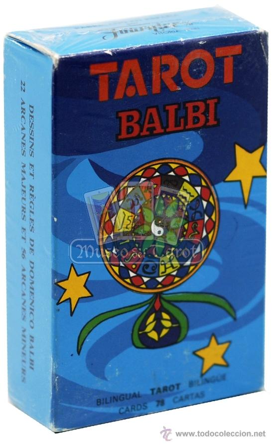 TAROT BALBI (Juguetes y Juegos - Cartas y Naipes - Barajas Tarot)