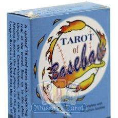 Barajas de cartas: TAROT OF BASEBALL. Lote 35489971