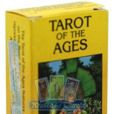 Barajas de cartas: TAROT OF THE AGES. Lote 35490011