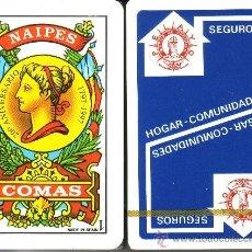 Barajas de cartas: SEGUROS PELAYO- BARAJA ESPAÑOLA 50 CARTAS. Lote 35517941