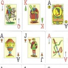 Barajas de cartas: BARAJA POKER ESPAÑOL MAS REYNALS DE VARITEMAS-AÑO 2000. Lote 35539266