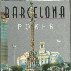 Barajas de cartas: POKER BARCELONA - 54 VISTAS DIFERENTES. Lote 47380520