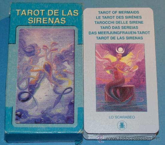 BARAJA DE CARTAS DE TAROT DE LAS SIRENAS. LO SCARABEO. 78 NAIPES. BONITOS NAIPES. (Juguetes y Juegos - Cartas y Naipes - Barajas Tarot)